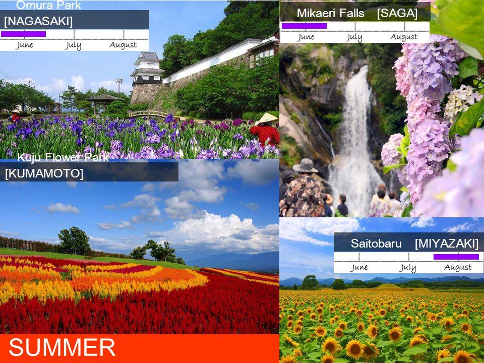 SUMMER Mikaeri Falls [SAGA] Omura Park [NAGASAKI]